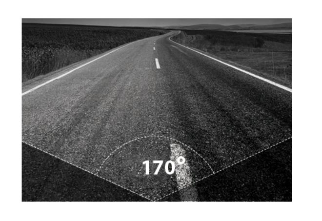 Góc quay rộng lên đến 170 độ của C61 cho phép ghi hình toàn cảnh