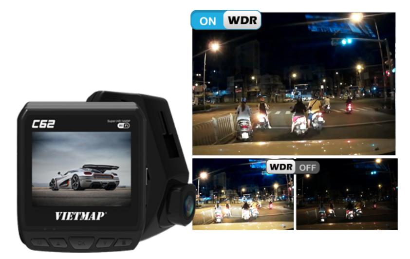 camera hành trình ô tô ghi hình sắc nét bất kể ngày đêm