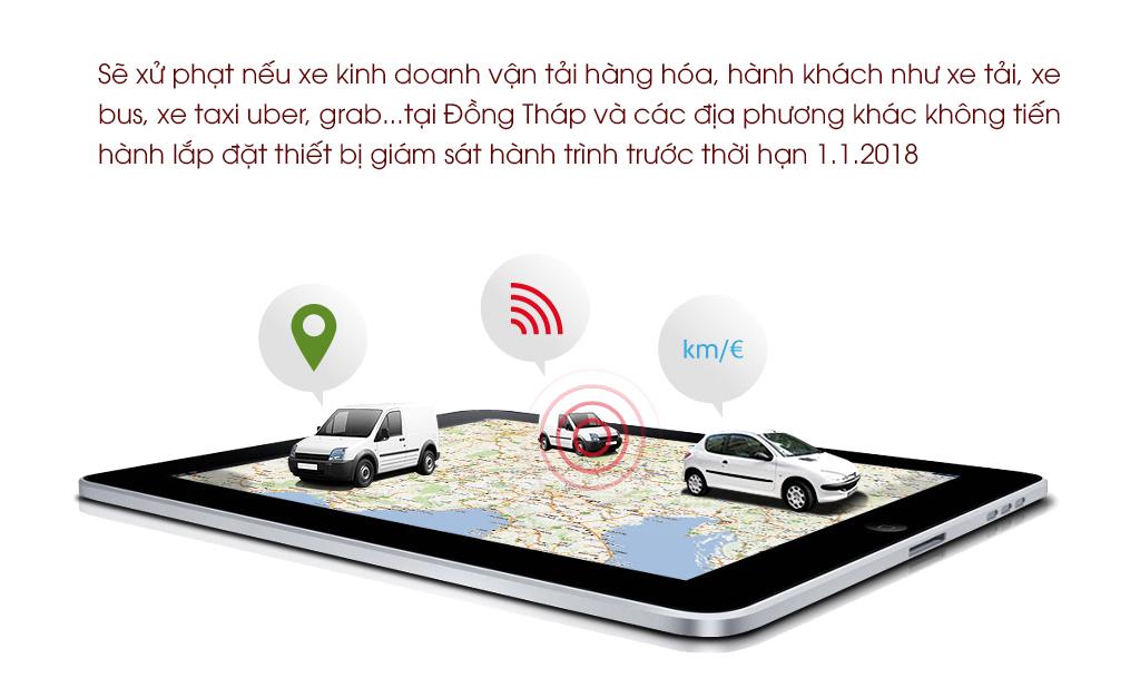 giám sát hành trình xe chạy grab 24/24 bằng định vị ô tô thông minh