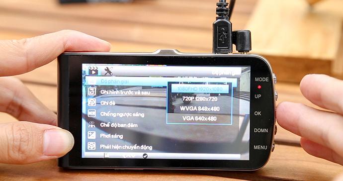 giao diện thân thiện - dễ thao tác của webvision s5