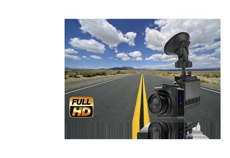 chất lượng ghi hình full HD của vietmap ir23