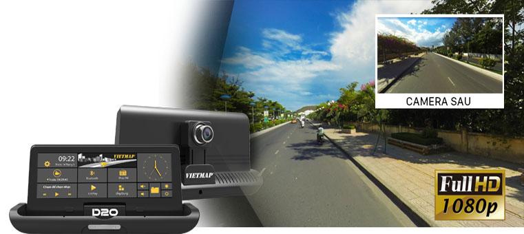 camera trước của d20 cho hình ảnh chất lượng cao
