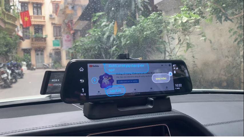 webvison m39x ai - hỗ trợ lái xe an toàn