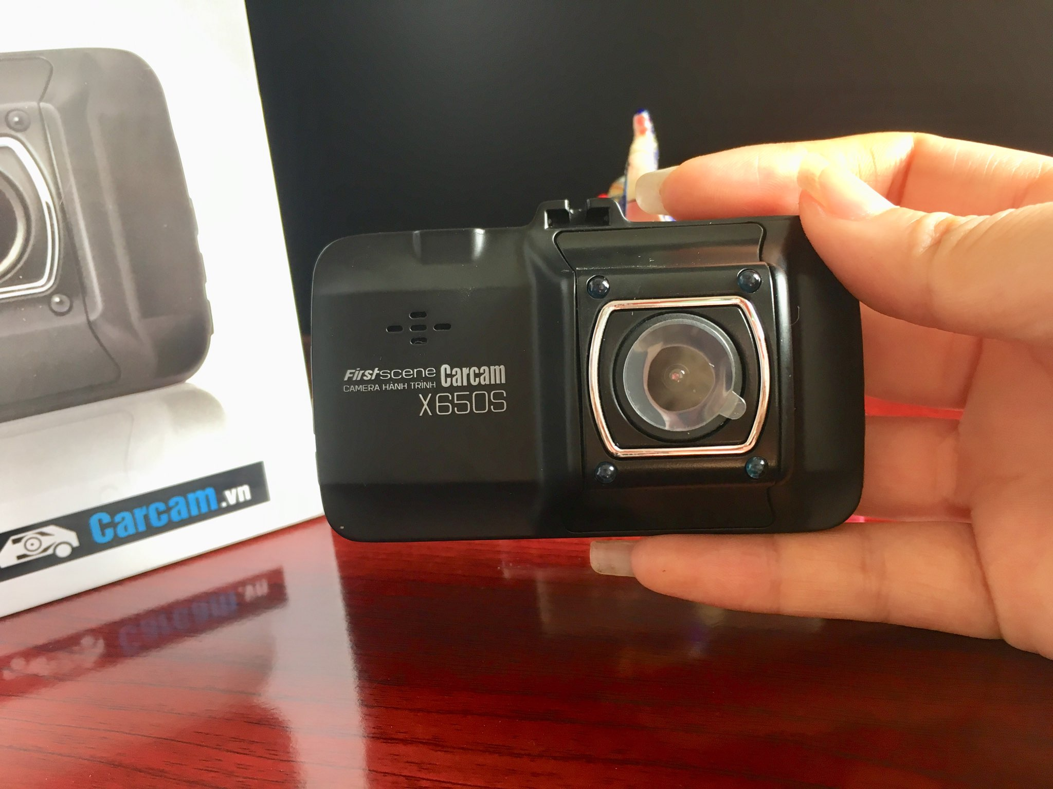 camera hành trình x650s có khẳ năng chống rung vô cùng tốt