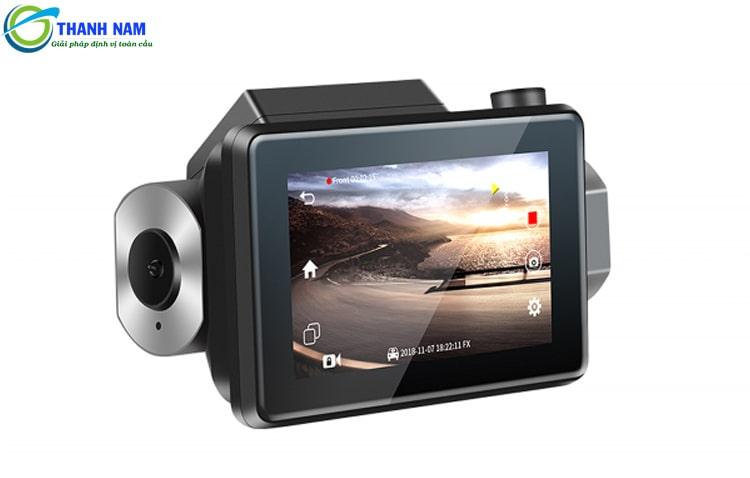 thiết kế nhỏ gọn - tinh tế của camera hành trình ô tô carcam a8