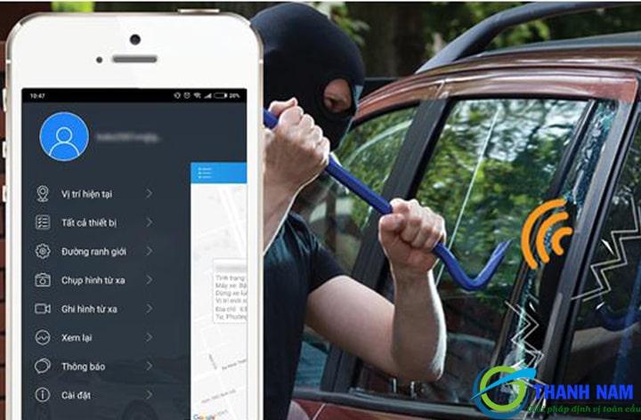 vietmap icam m200 cảnh báo chống trộm hiệu quả