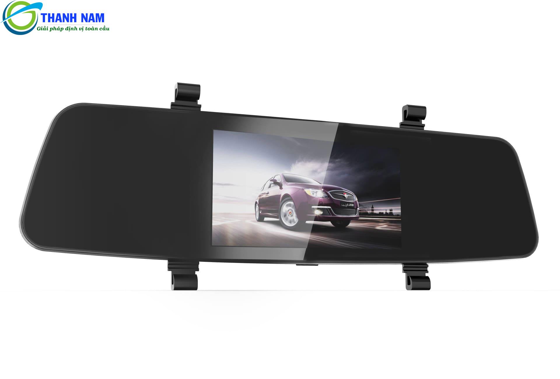 camera hành trình trên gương g8+ carcam