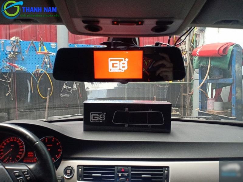 cam hành trình g8+ carcam có tích hợp GPS, kết nối Wifi và G-Sensor