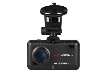 Camera hành trình Webvision A28 ghi hình 4K tích hợp GPS, WIFI
