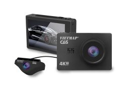 Camera hành trình Vietmap C65 4K, WIFI, GPS, Ghi hình trước sau