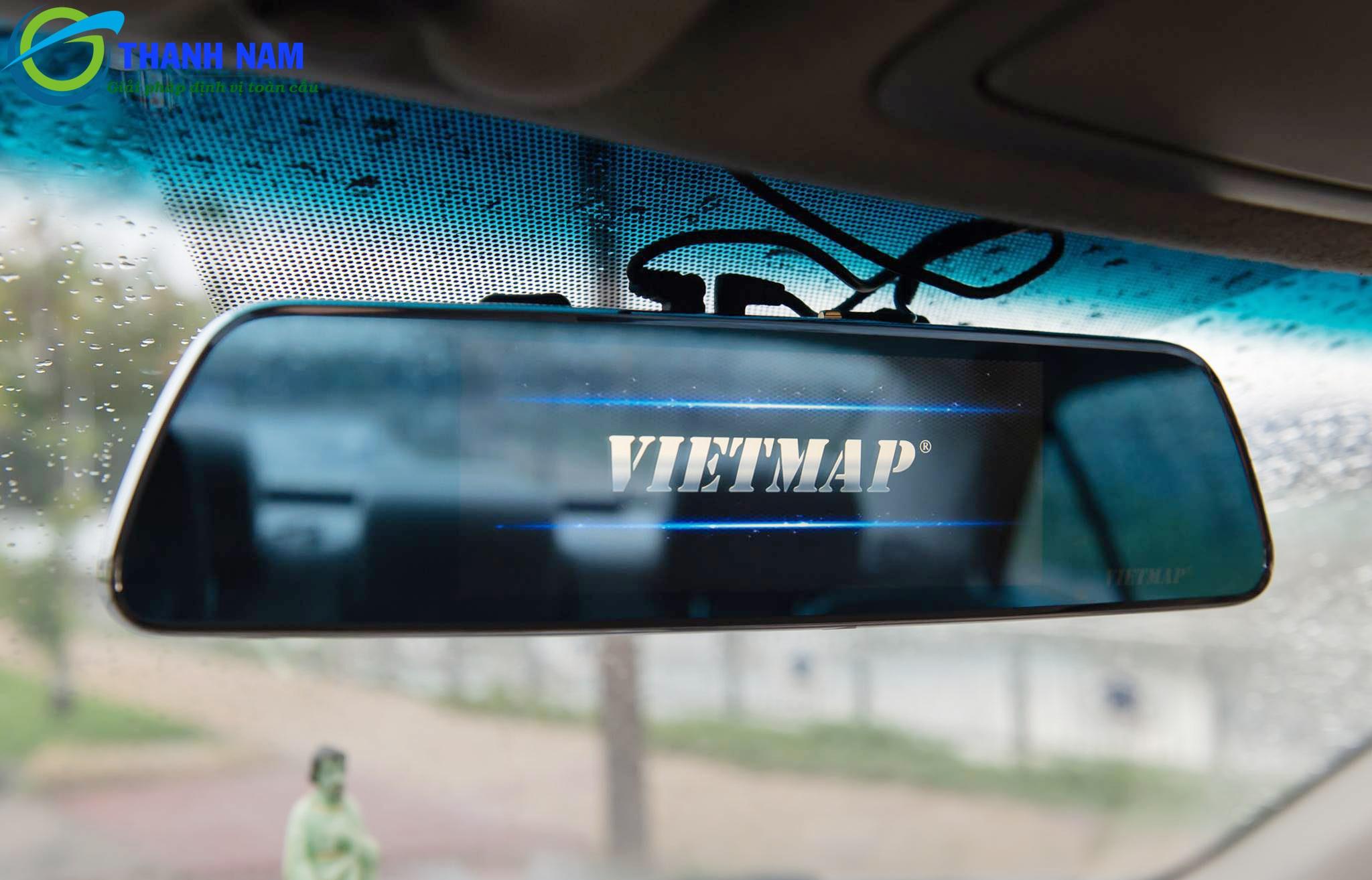 camera hành trình gương vietmap idvr p1