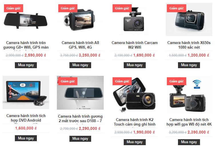 camera hành trình carcam giá siêu rẻ tại thành nam gps