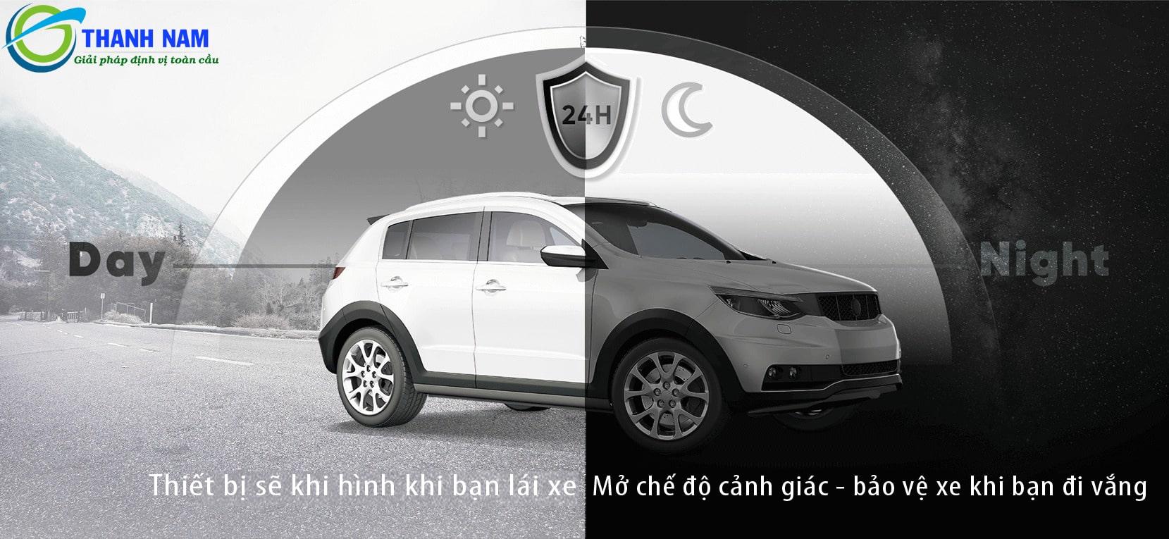 chế độ trông xe - bảo vệ xe 24/24 của 70mai lite