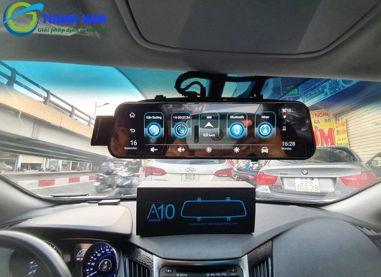 lắp đặt camera hành trình android a10 carcam tại thành nam gps