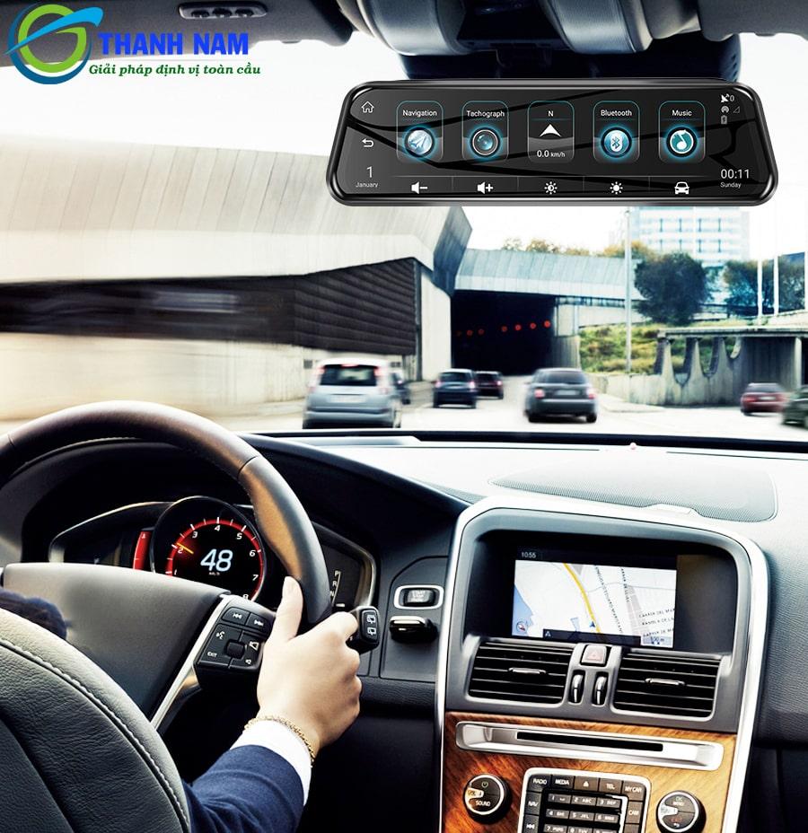 a10 carcam được tích hợp phần mềm giám sát xe từ xa car assist