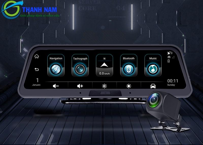 a9 carcam được trang bị công nghệ Bluetooth hỗ trợ đàm thoại rảnh tay