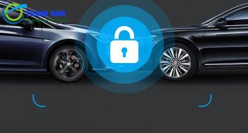 hp f960x được trang bị hệ thống hỗ trợ lái xe tân tiến adas, tích hợp GPS, WIFI