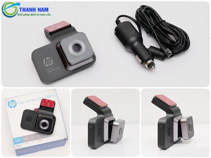 lắp đặt camera hành trình xe HP F960X tại Thành Nam GPS