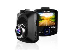 Camera hành trình Vietmap C62S ghi hình trước sau, Wifi, GPS