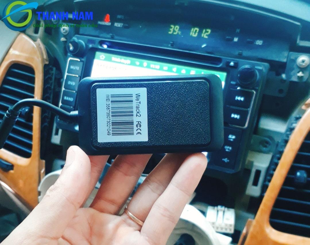 lắp thiết bị định vị ô tô wetrack 2 tại thành nam gps đà nẵng