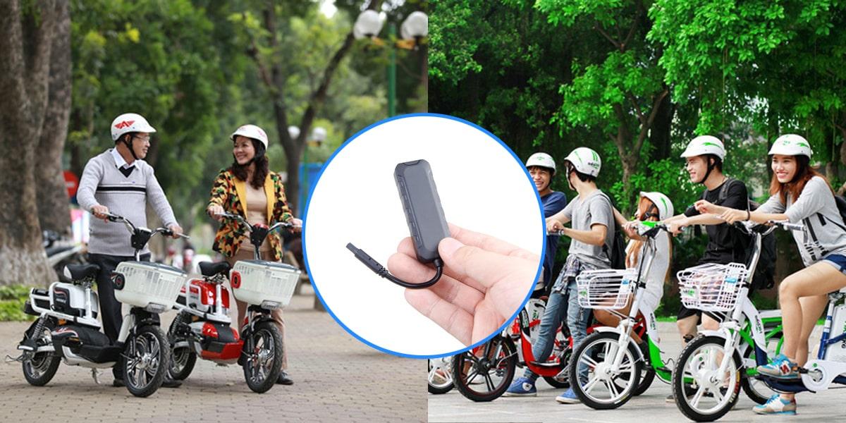 thiết bị định vị xe đạp điện có tính ứng dụng cao trong cuộc sống