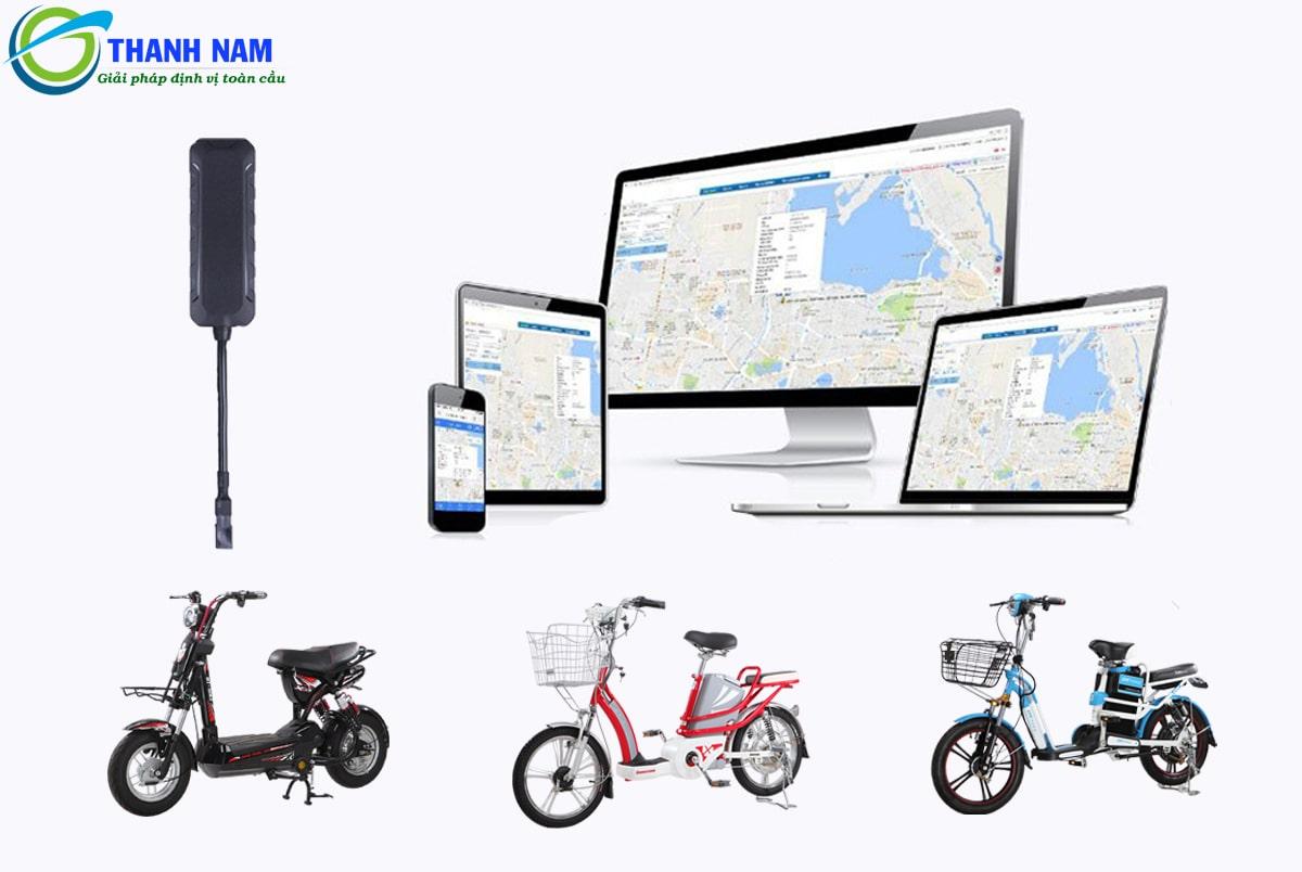 quản lý hành trình xe mọi lúc mọi nơi với thiết bị định vị xe đạp điện siêu rẻ của thành nam gps