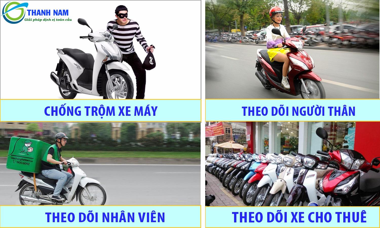 ứng dụng của thiết bị định vị xe máy trong cuộc sống