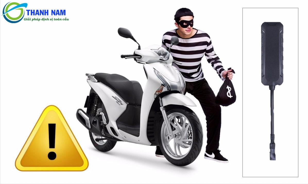 thiết bị định vị chống trộm xe máy thông minh