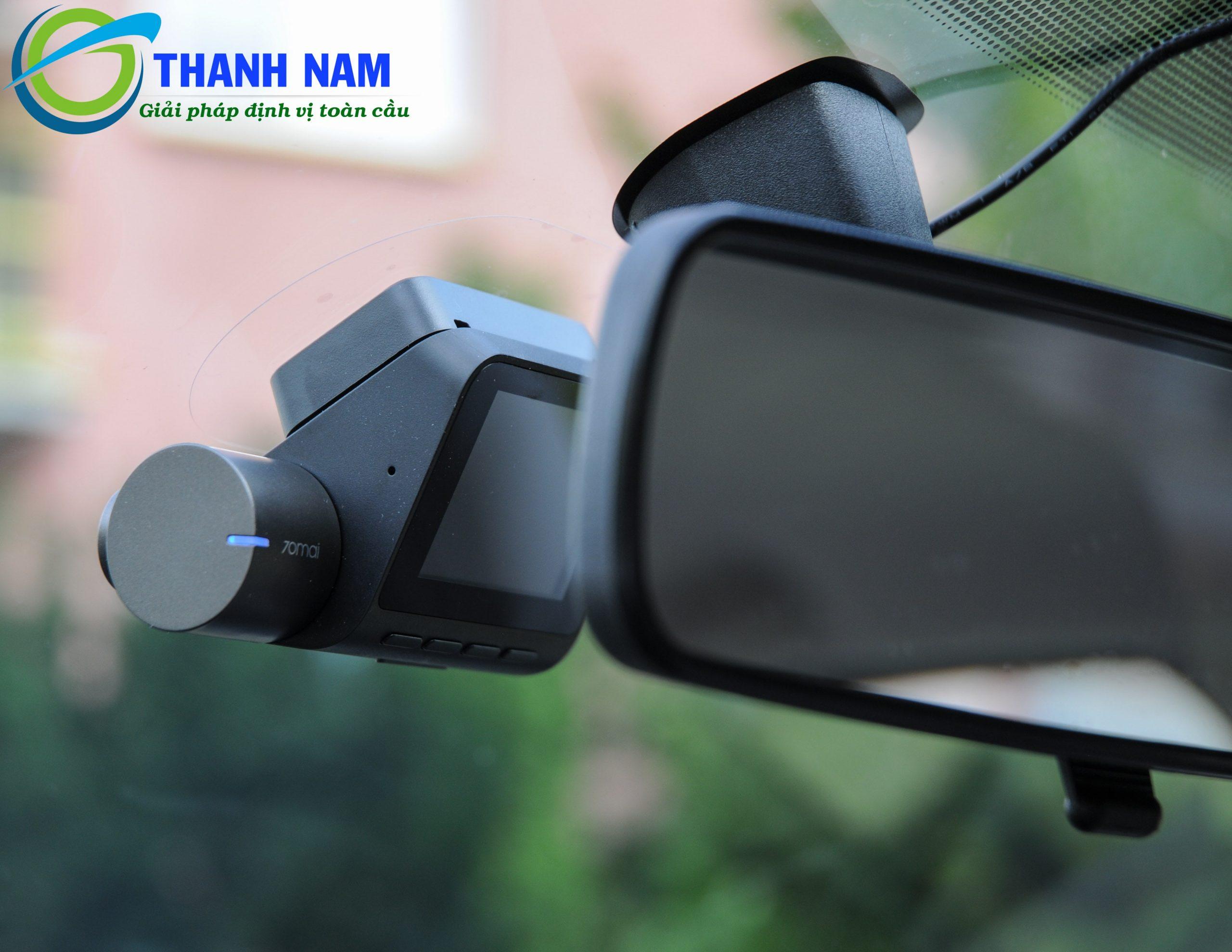 lắp camera hành trình xiaomi 70mai pro tại thành nam gps