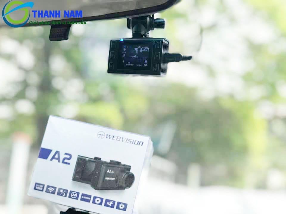 địa chỉ lắp đặt camera hành trình webvision a2 chính hãng - uy tín tại việt nam