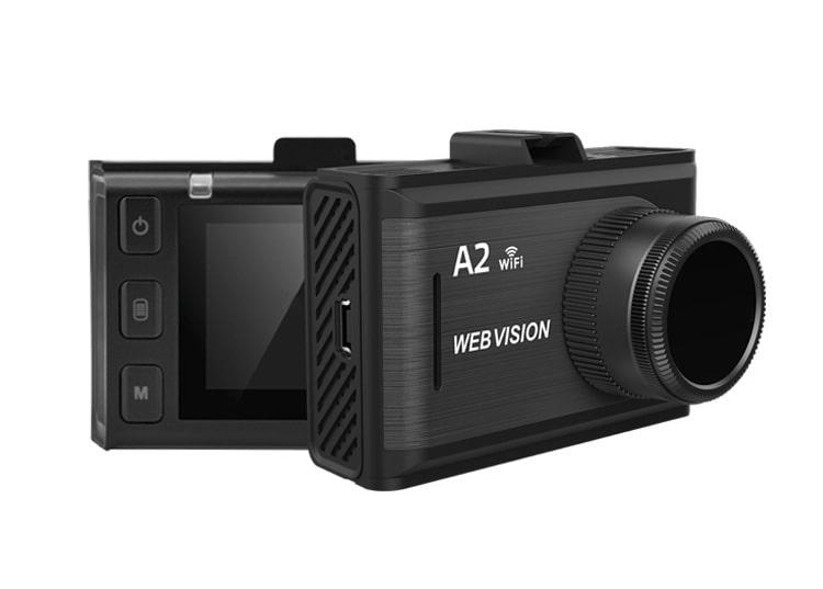 camera hành trình webvision a2 kết nối wifi