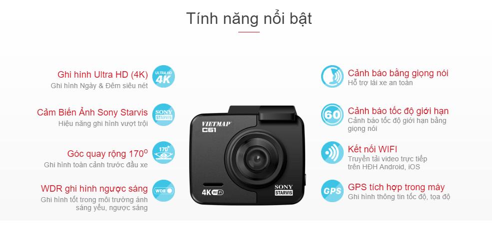 lắp đặt camera hành trình vietmap giá rẻ - chính hãng