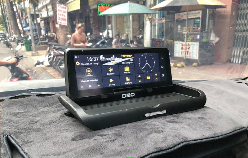Vietmap D20 - Camera hành trình đặt tablo với hệ thống tính năng đa dạng