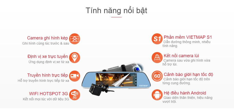 giá camera hành trình vietmap p1