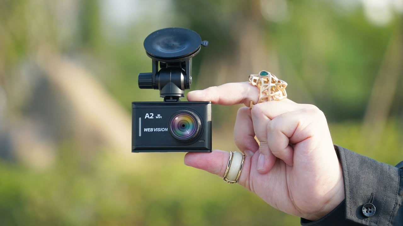 camera hành trình ghi hình một mắt webvision a2