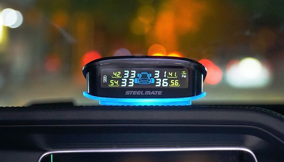 máy đo áp suất lốp thông minh