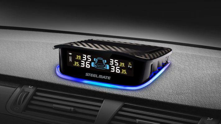 lái xe an toàn khi lắp đặt máy cảm biến áp suất lốp