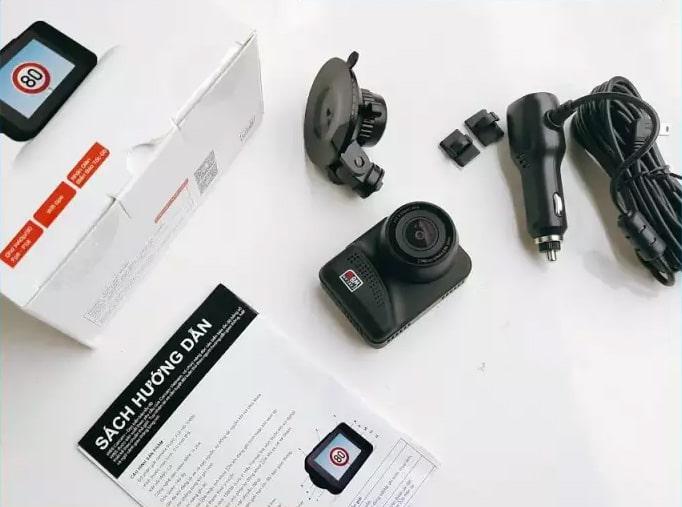 trọn bộ camera hành trình ô tô thế hệ mới w8s