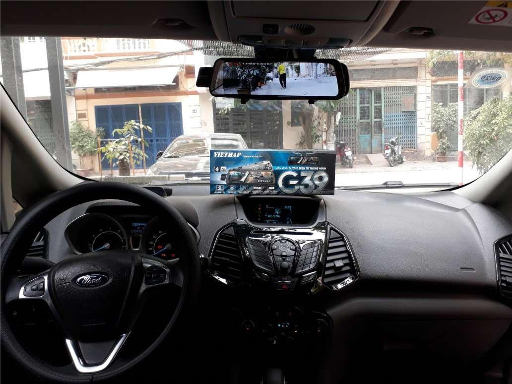 lắp đặt camera hành trình gương vietmap g39 giá tốt tại thành nam gps