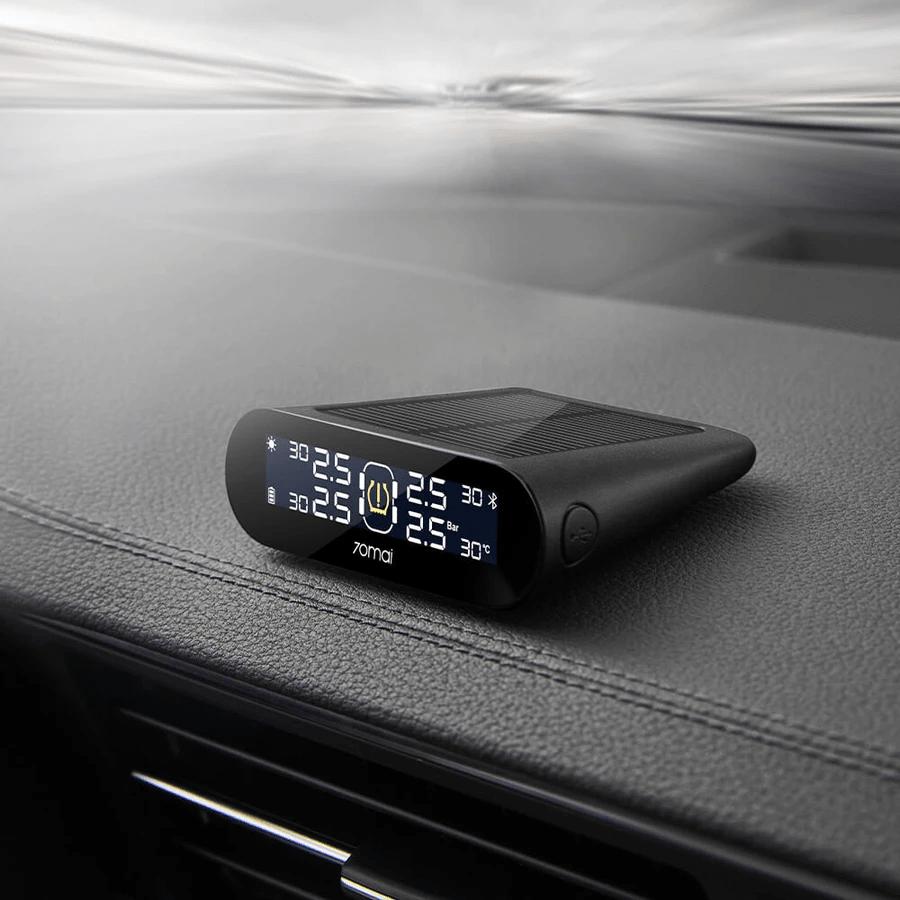 màn hình lcd hiển thị thông số áp suất lốp - nhiệt độ lốp rõ ràng, sắc nét