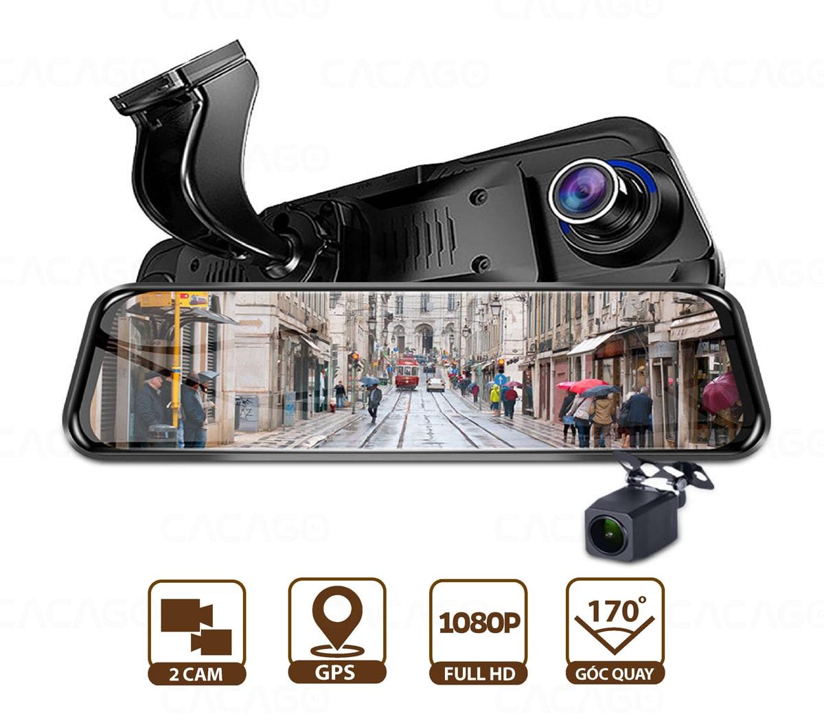 camera hành trình đa tính năng cacago g07x