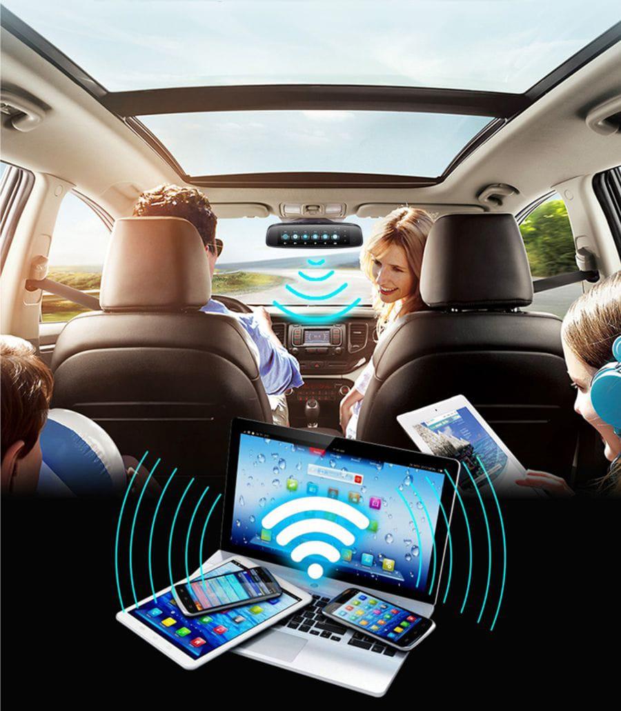 camera hành trình có khả năng kết nối 4g phát wifi