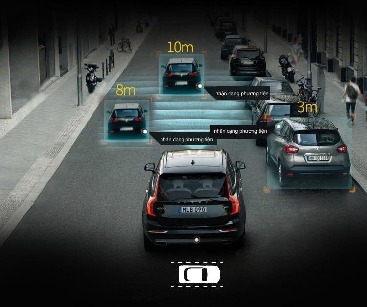 lái xe an toàn với camera hành trình gương navicom v360