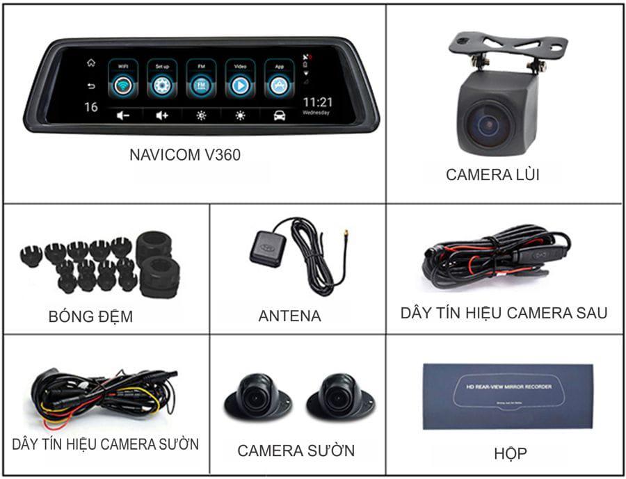 địa chỉ bán camera hành trình xe hơi navicom v360 chính hãng tại Việt Nam