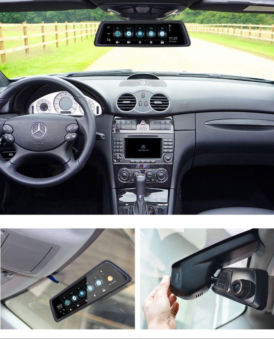hình ảnh lắp đặt thực tế navicom v360 tại thành nam gps