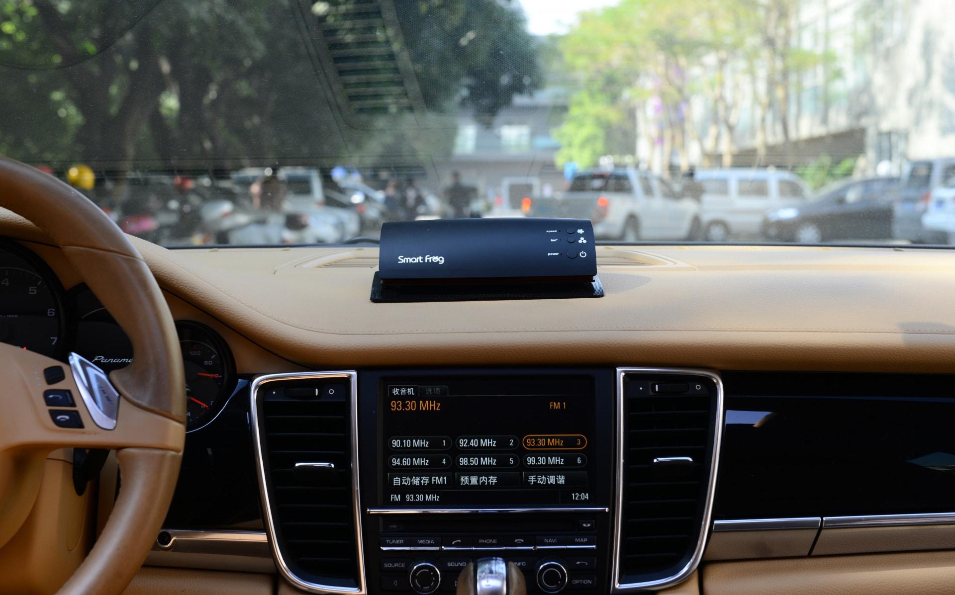 thiết bị lọc không khí ô tô smart frog