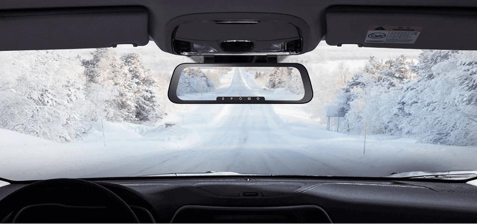 70mai Rearview Dash Cam Wide có thiết kế hiện đại - sang trọng