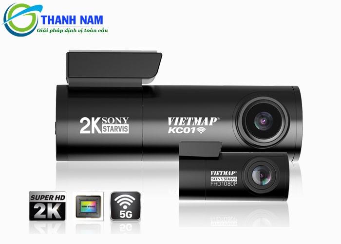 camera hành trình xe thế hệ mới kc01 có thiết kế hiện đại, nhỏ gọn