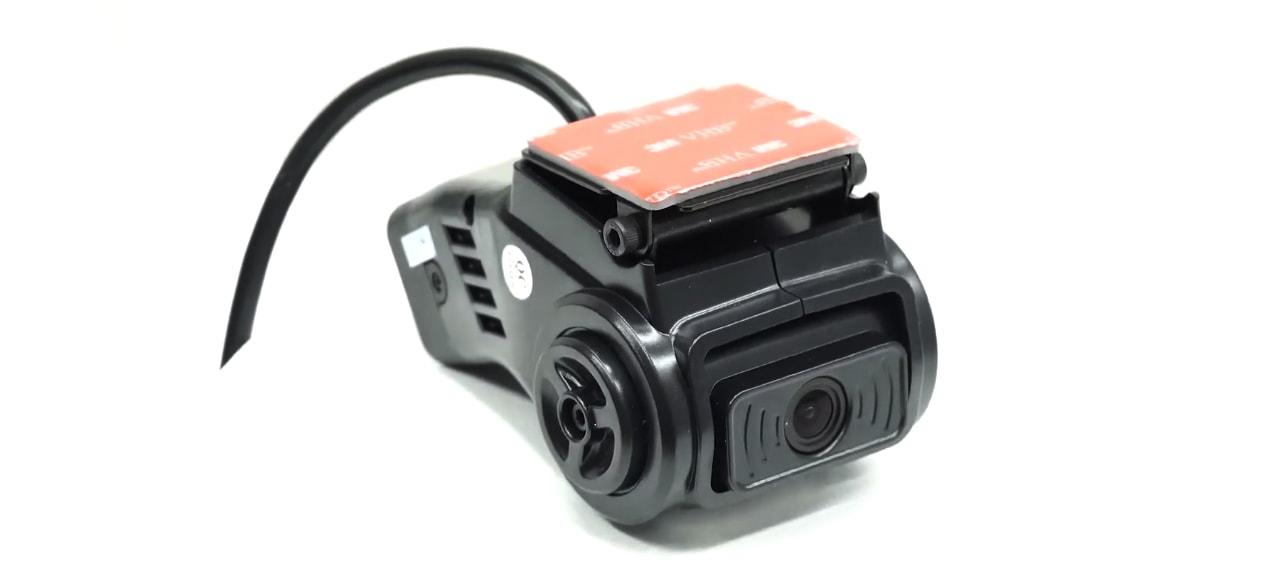 camera hành trình ghi hình 2 mắt trước và trong cabin xe navicom dfi20