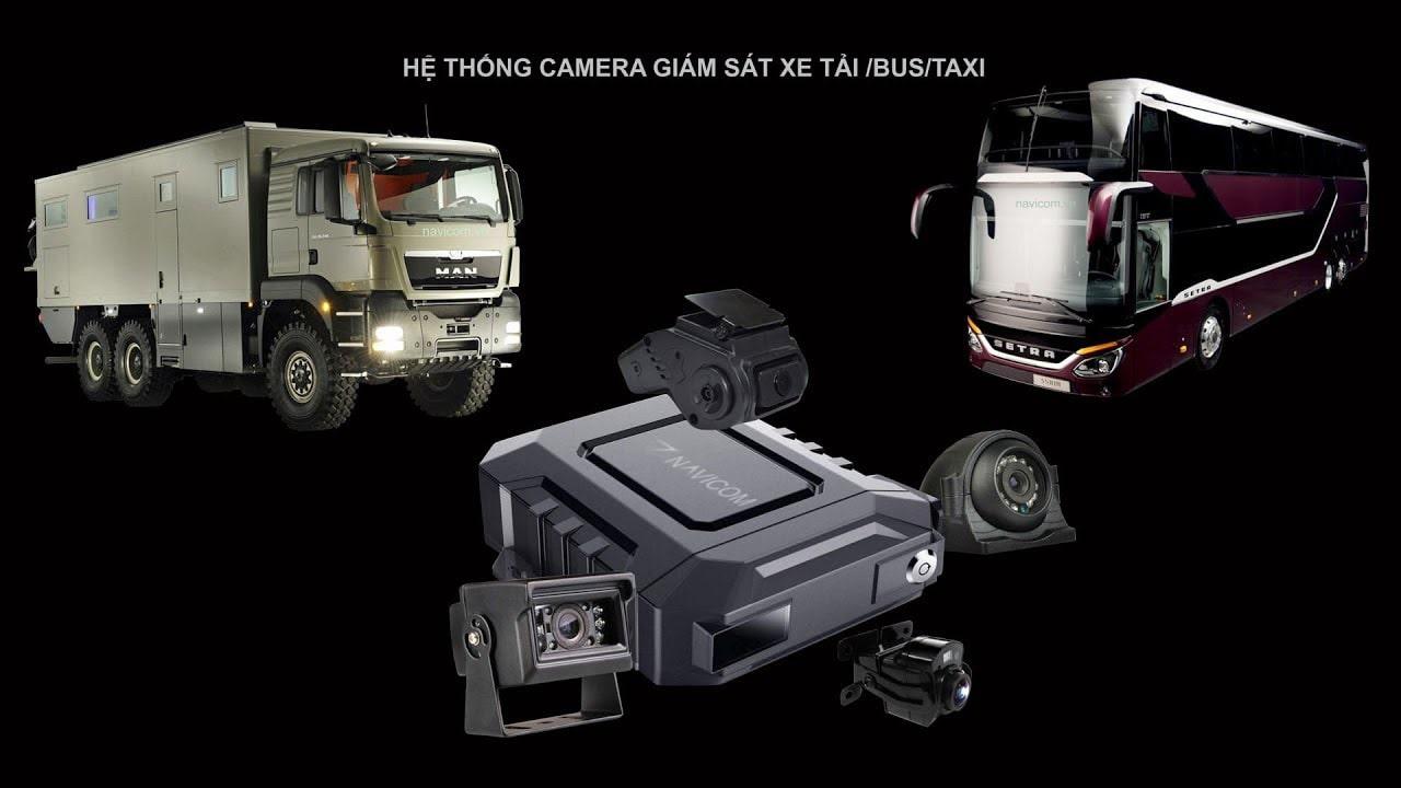 giám sát xe khách, xe tải, xe bus, xe taxi bằng đầu ghi 4 kênh navicom ct04g